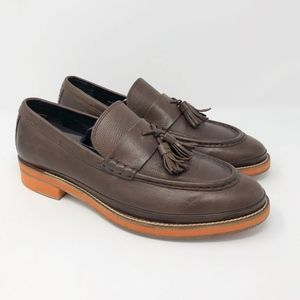 Cole Haan Leather Tassel Loafers